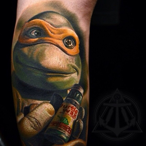 Ninja Turtle Tattoos Designs and Ideas4-004