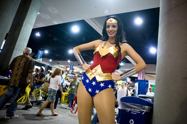 Sexy Wonder Women Cosplay and costume003