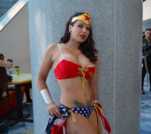 Sexy Wonder Women Cosplay and costume005