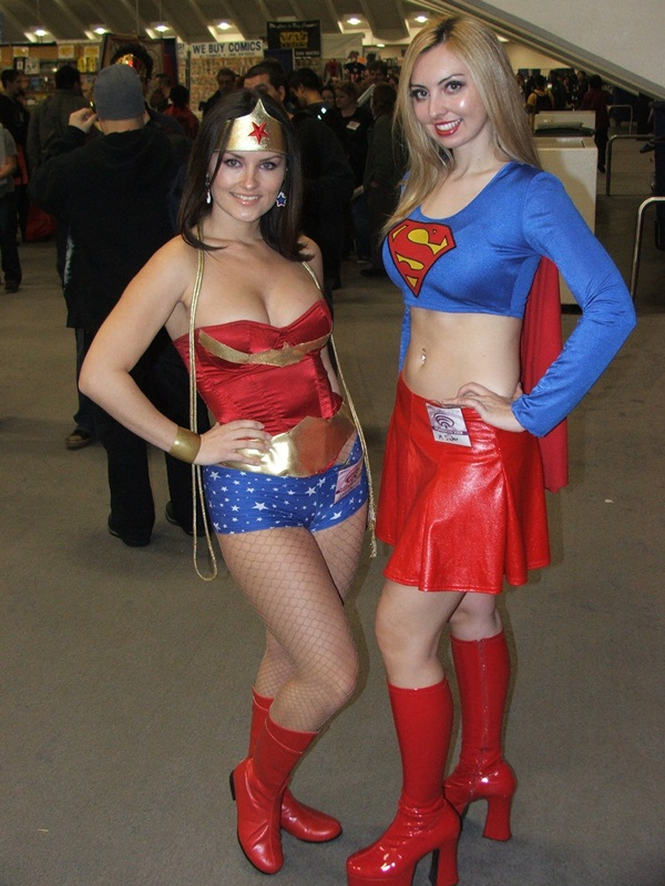 Sexy Wonder Women Cosplay and costume009
