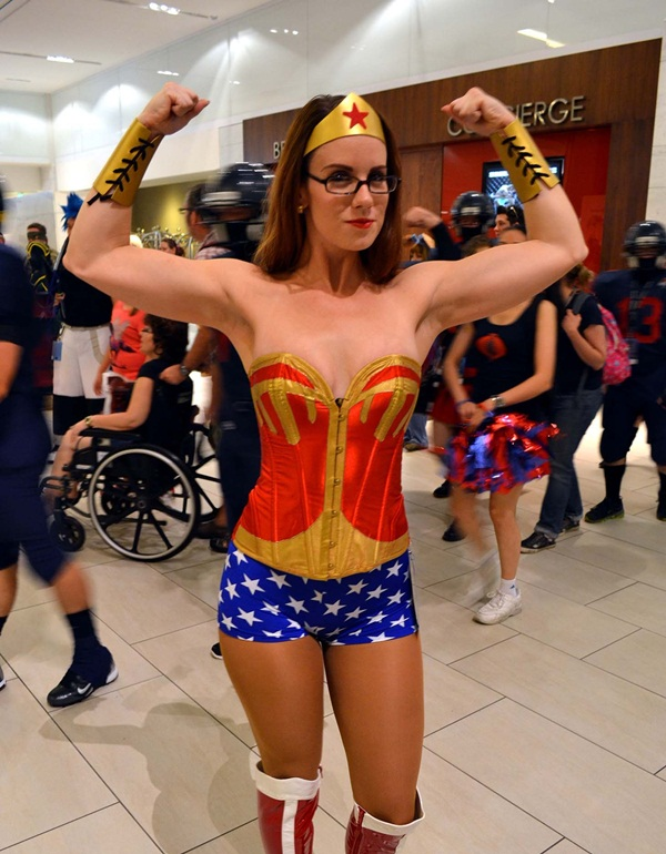 Sexy Wonder Women Cosplay and costume010