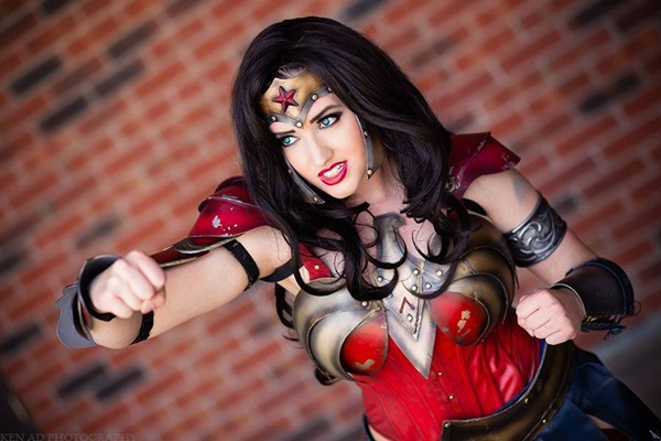 Sexy Wonder Women Cosplay and costume021