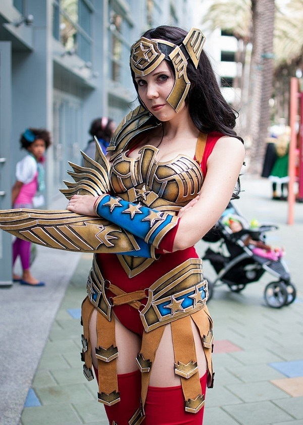 Sexy Wonder Women Cosplay and costume022