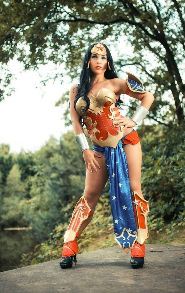 Sexy Wonder Women Cosplay and costume024