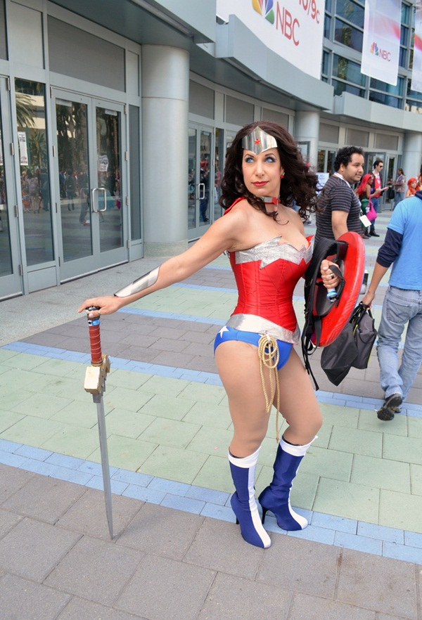 Sexy Wonder Women Cosplay and costume025