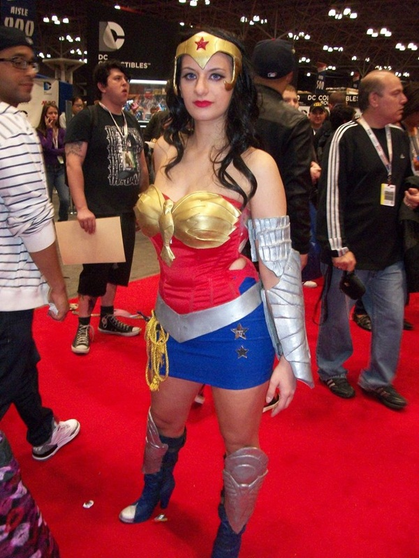 Sexy Wonder Women Cosplay and costume027