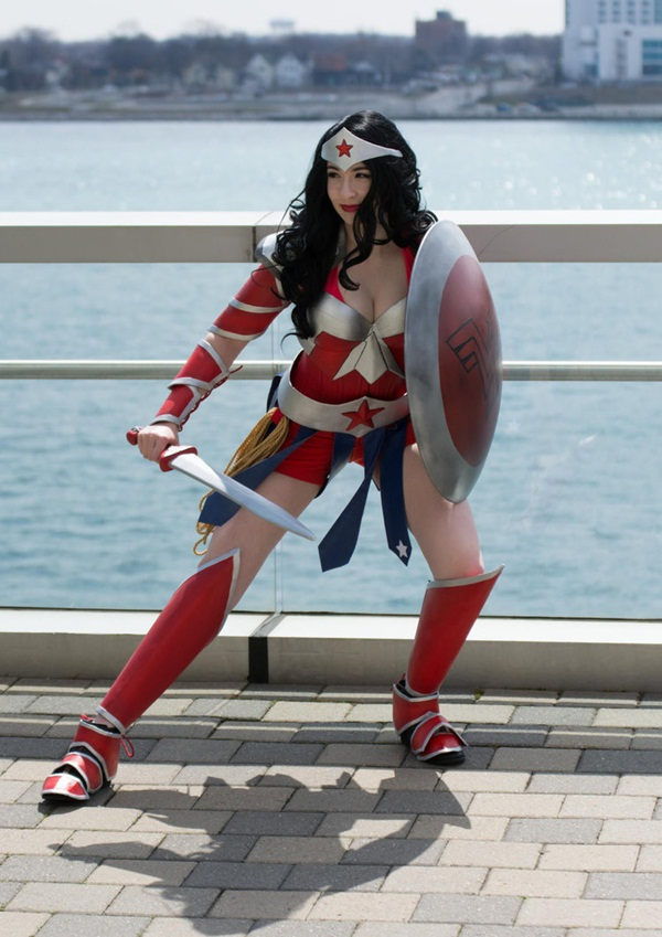 Sexy Wonder Women Cosplay and costume029