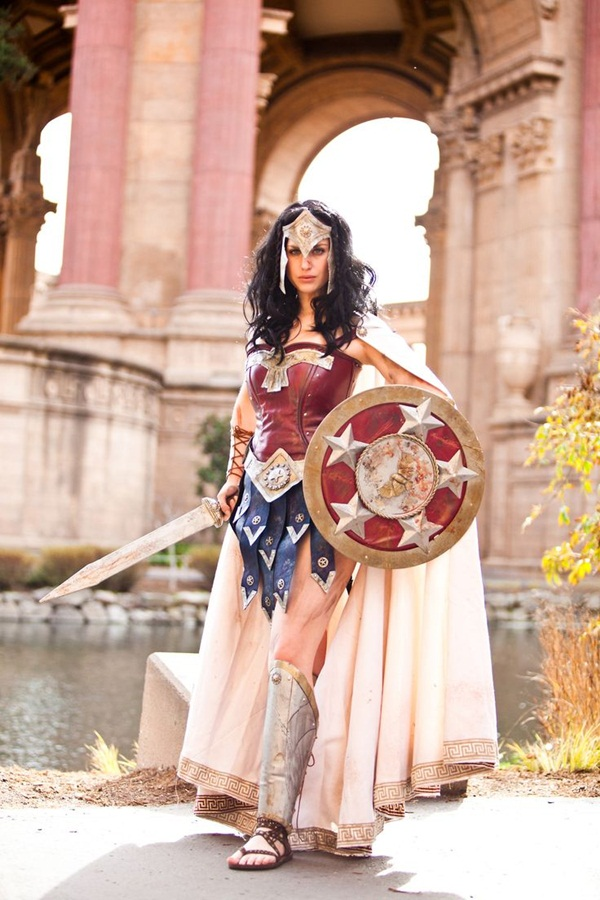 Sexy Wonder Women Cosplay and costume030