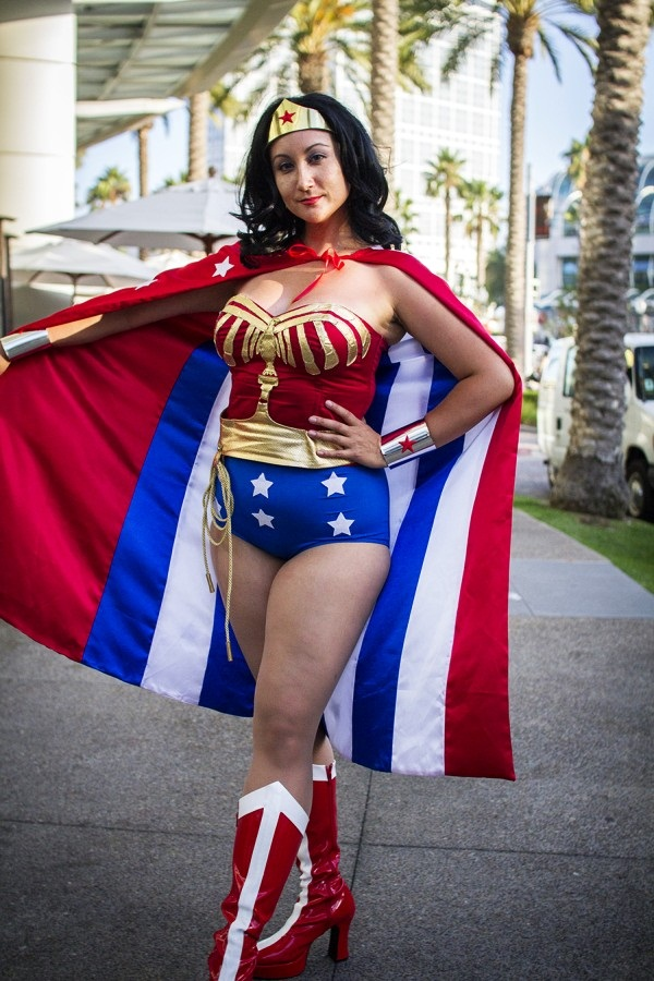 Sexy plus size cosplay