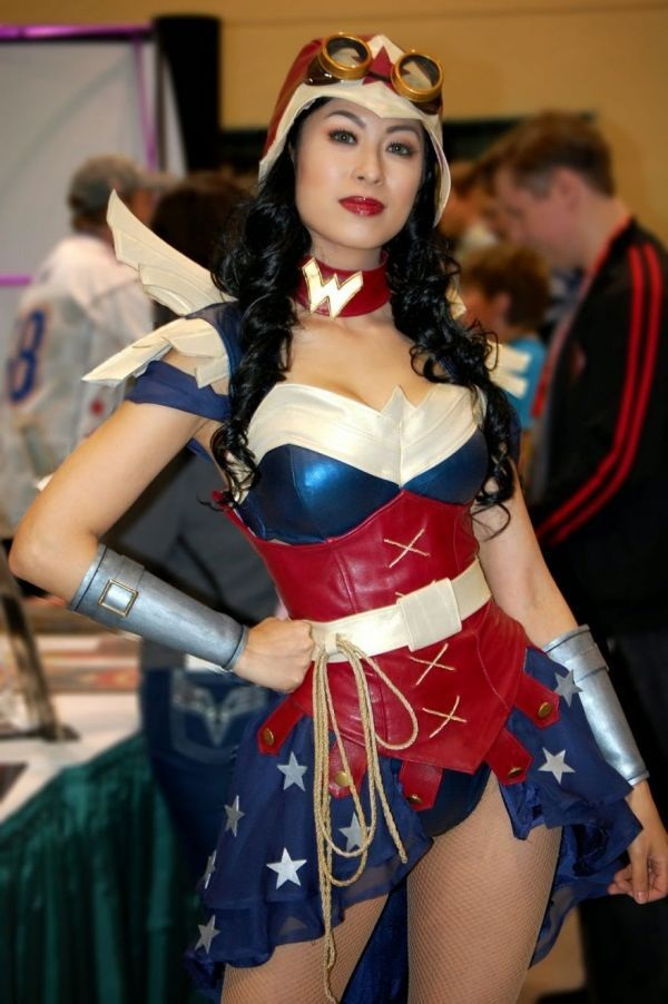 Sexy Wonder Women Cosplay and costume039