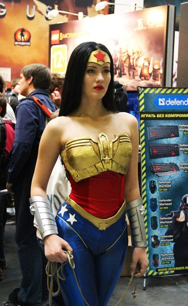 Sexy Wonder Women Cosplay and costume040