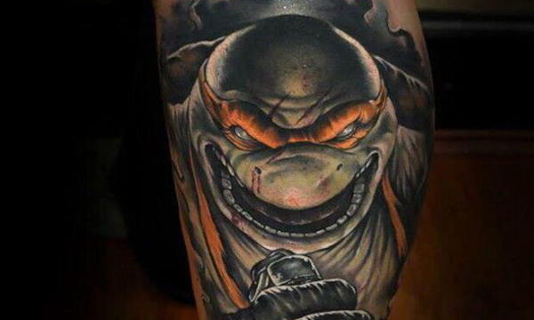 Best Free Cartoon Tattoo designs and ideas14-014
