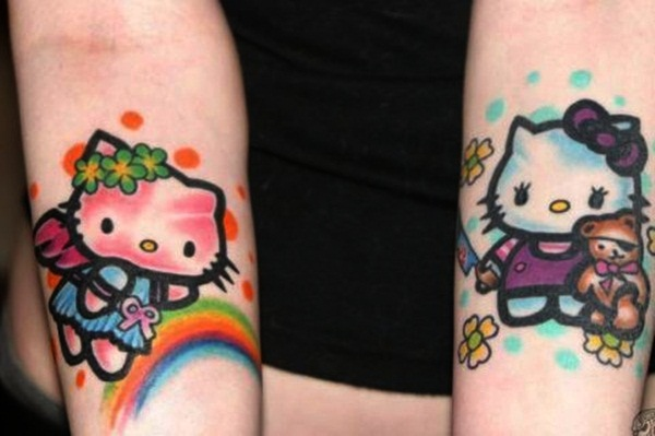 Best Free Cartoon Tattoo designs and ideas29-029