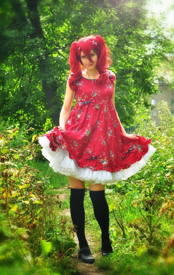 Sexy Lolita Cosplay Outfits and Ideas34-034