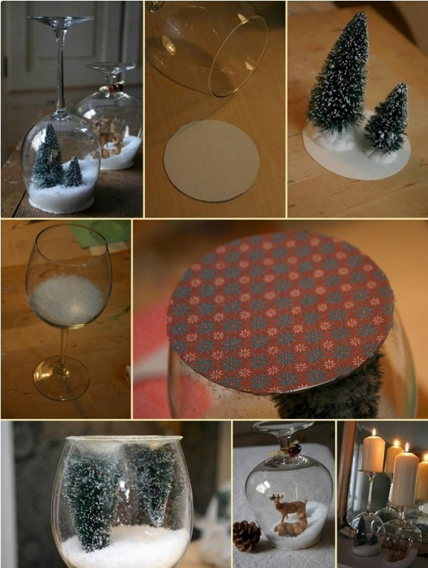 DIY Christmas Snow Globe Ideas for Kids11