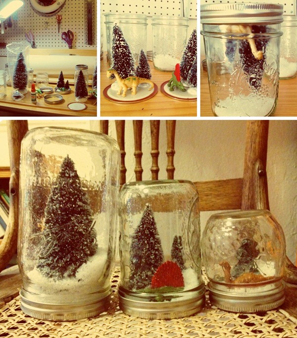 DIY Christmas Snow Globe Ideas for Kids14