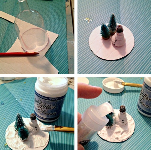 DIY Christmas Snow Globe Ideas for Kids15