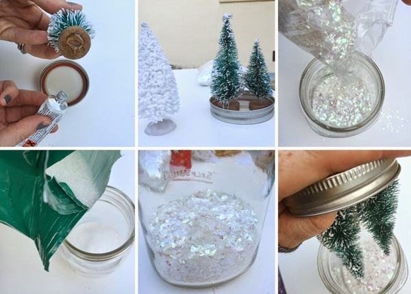 DIY Christmas Snow Globe Ideas for Kids17