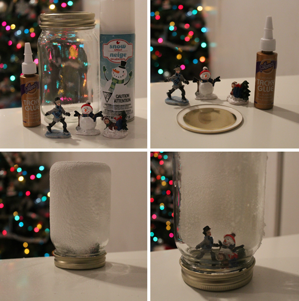 DIY Christmas Snow Globe Ideas for Kids20