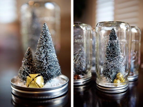 DIY Christmas Snow Globe Ideas for Kids22