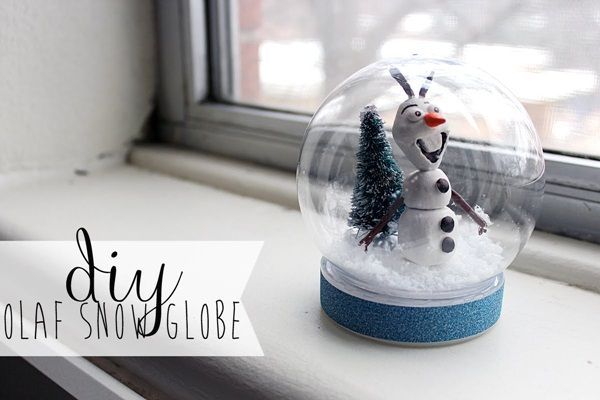 DIY Christmas Snow Globe Ideas for Kids27