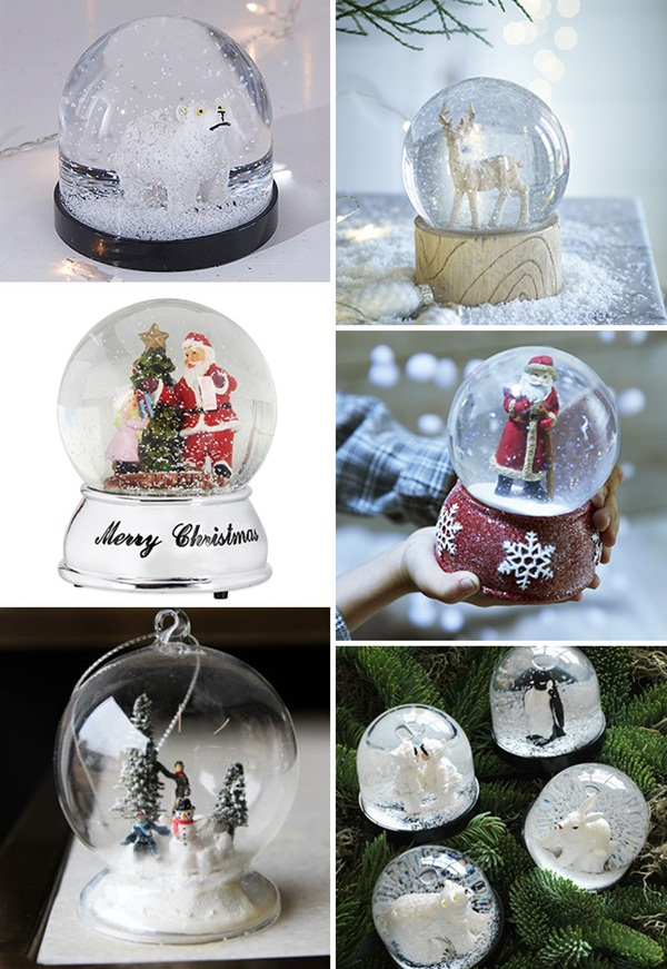 DIY Christmas Snow Globe Ideas for Kids33