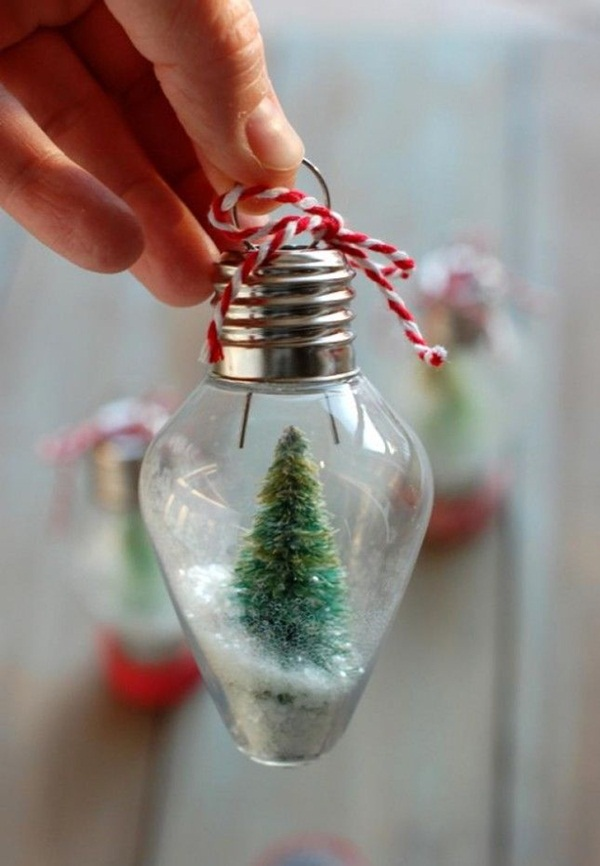 DIY Christmas Snow Globe Ideas for Kids40
