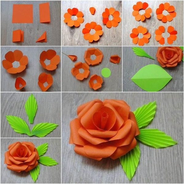 40 diy paper crafts ideas for kids for Easy diy home decorations