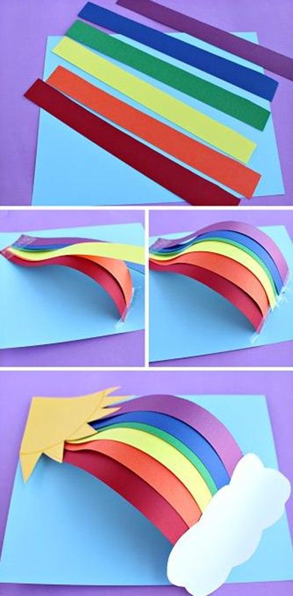 40 diy paper crafts ideas for kids. Black Bedroom Furniture Sets. Home Design Ideas