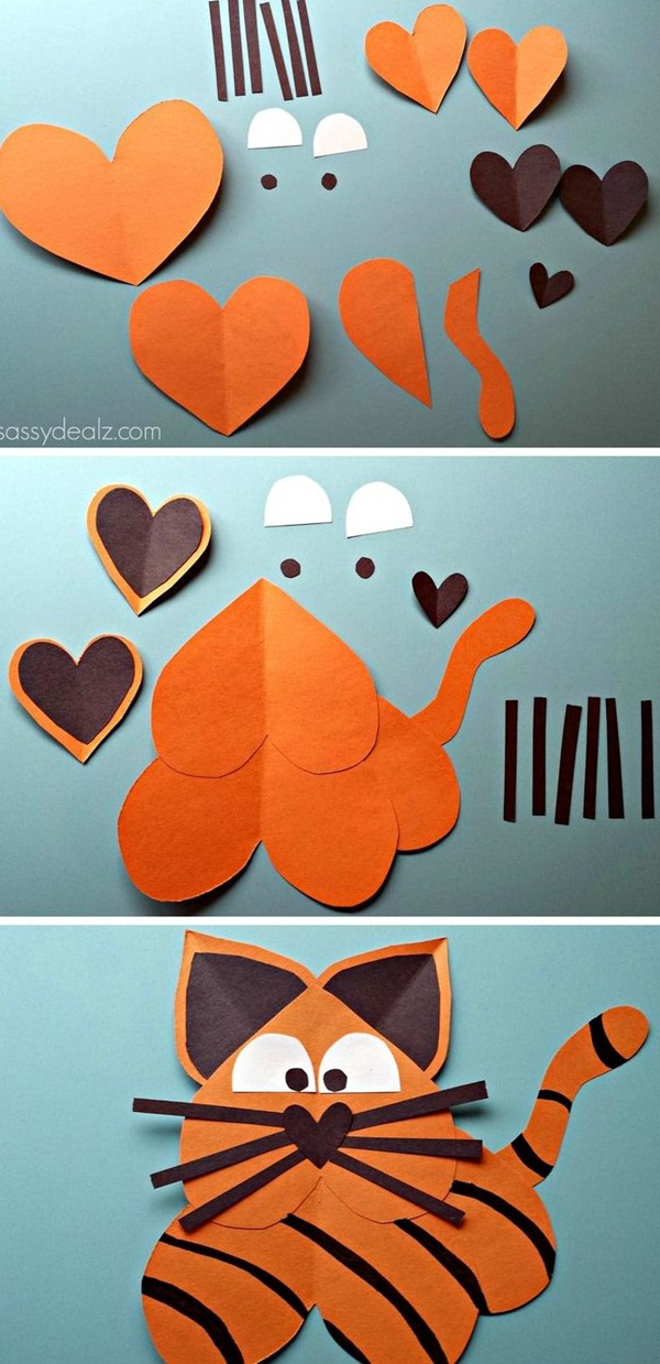 DIY Paper Crafts Ideas for Kids37