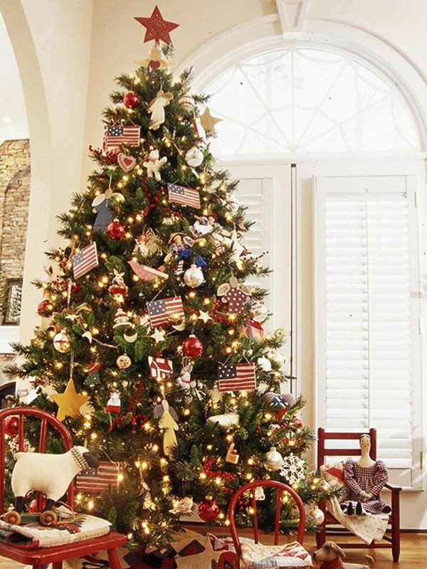 Easy Christmas tree decorating ideas12