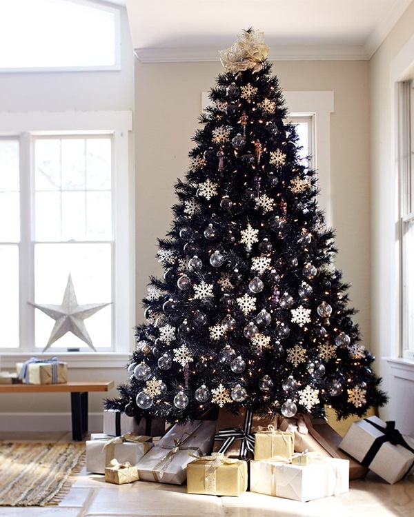 Easy Christmas tree decorating ideas15