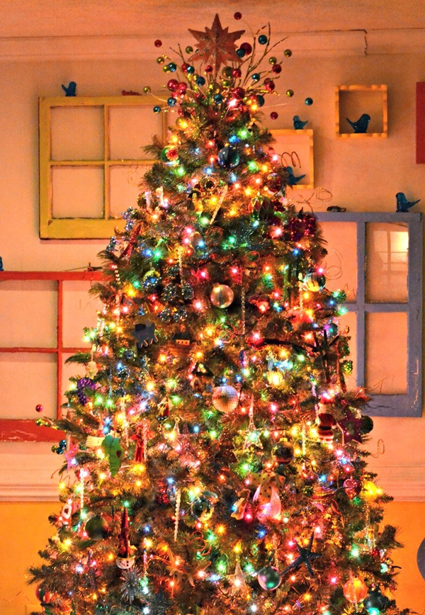 easy christmas tree decorating ideas19