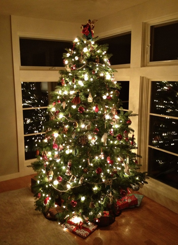 40 Easy Christmas Tree Decorating Ideas: sample christmas tree decorating ideas