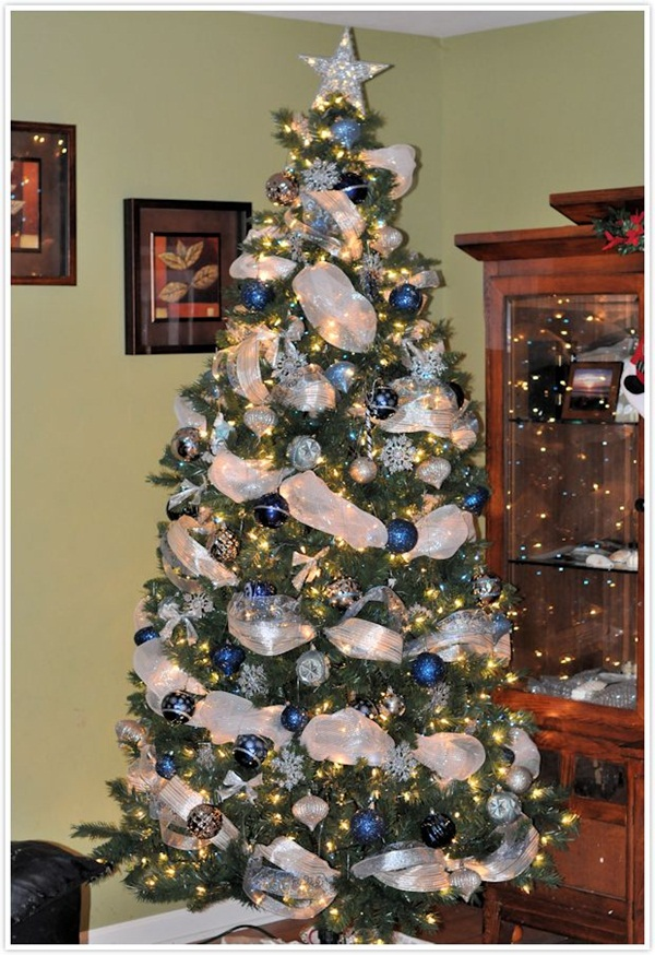 Easy Christmas tree decorating ideas21