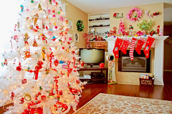 Easy Christmas tree decorating ideas22