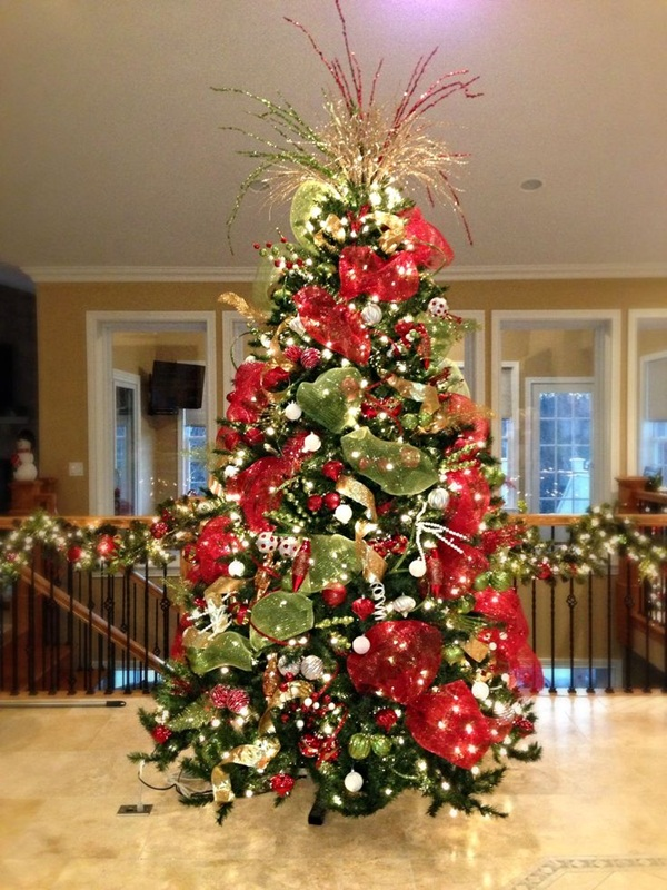 Easy Christmas tree decorating ideas31