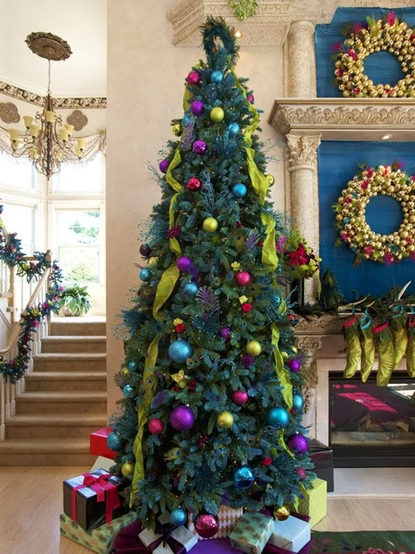 Easy Christmas tree decorating ideas34