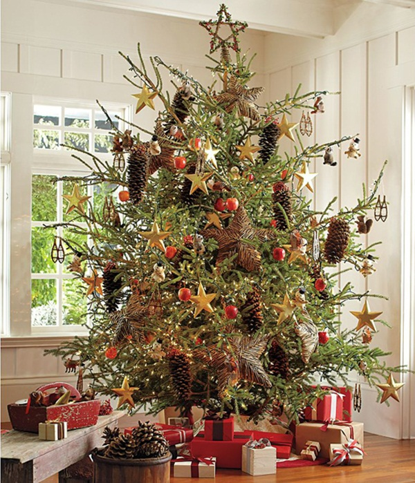 Easy Christmas tree decorating ideas37