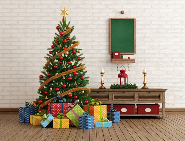 Easy Christmas tree decorating ideas40