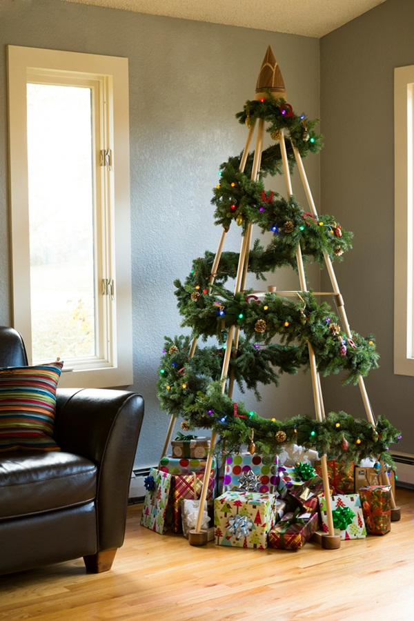 Easy Christmas tree decorating ideas7