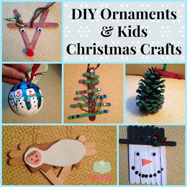 Simple Christmas Craft Ideas for Kids8.
