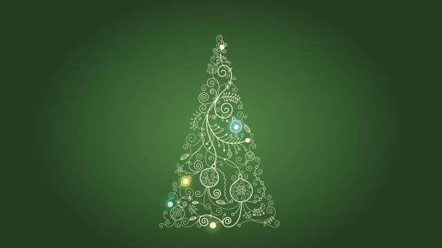 beautiful Christmas tree wallpaper (1)