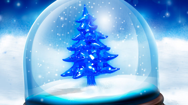 beautiful Christmas tree wallpaper (3)