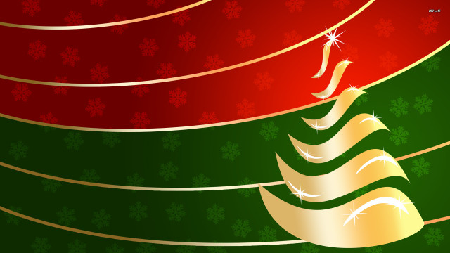 beautiful Christmas tree wallpaper (36)