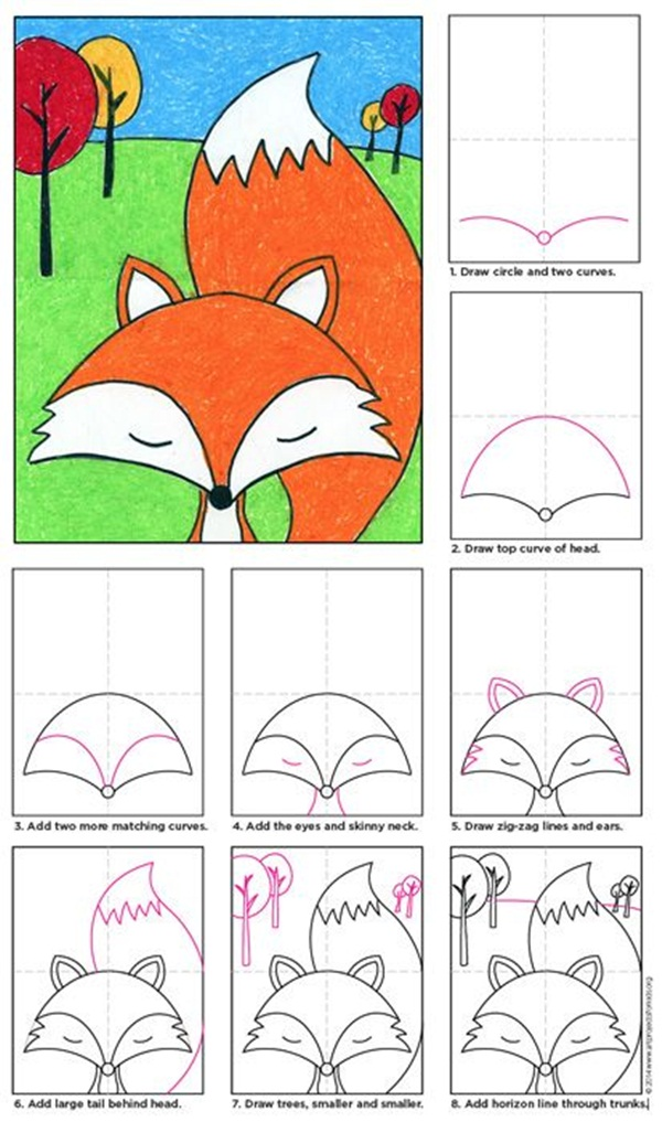 easy-diy-cartoon-drawings-for-kids20