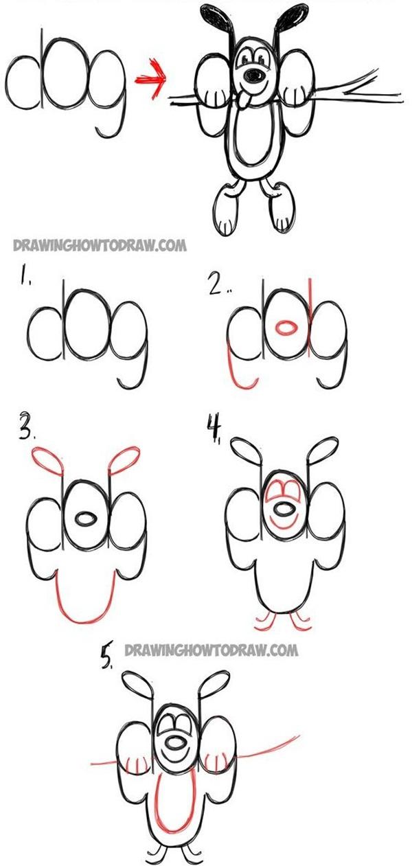 easy-diy-cartoon-drawings-for-kids7
