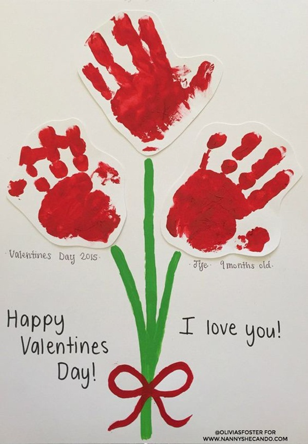 Valentines Day Crafts for Kids34