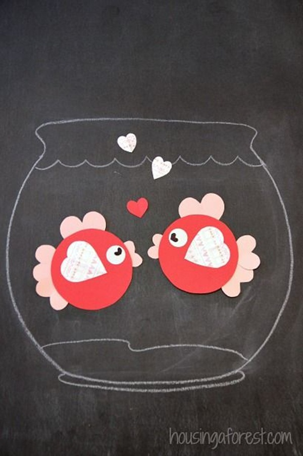40 super easy valentines day crafts for kids to try for Kids valentines day craft