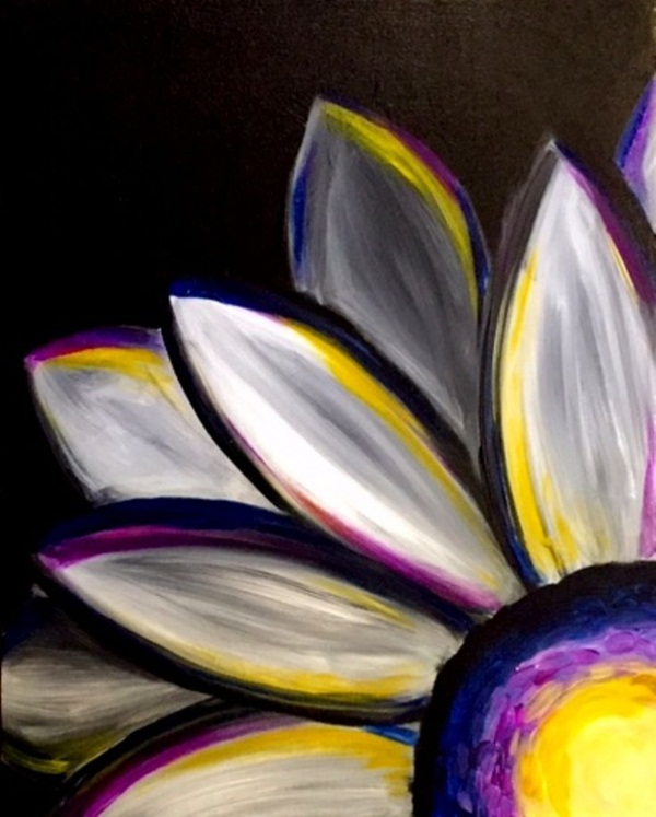 70 easy acrylic painting ideas for beginners to try for Ideas for acrylic painting projects